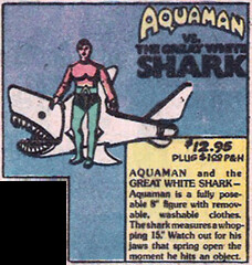 Mego Aquaman Shark Ad