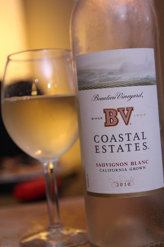 Beaulieu Vineyard Coastal Series 2010 Sauvignon Blanc