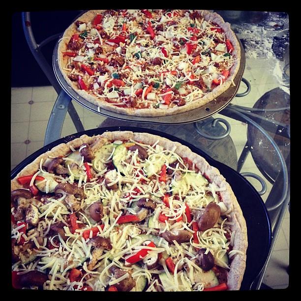 makin' pizzas