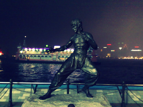 *Bruce Lee @ Hong Kong