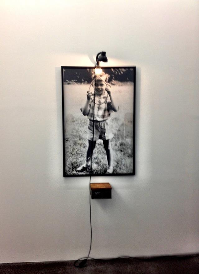 Christian Boltanski_ Conversation Piece (Portrait eines Jungen mit Tennisschläger)