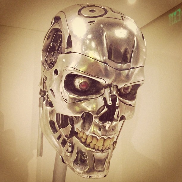 Terminator 2 prop at Seattle's EMP museum