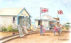 Commission-Brighton Seafront by Anita Davies