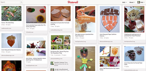 Squirrel and Nut Activities Pinterest Board