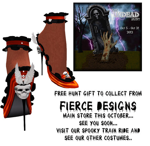The undead hunt gift from Fierce Designs