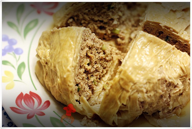 Ground meat with Beancurd Parcels 7