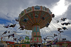Oktoberfest funfair ride