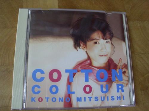 Kotono 原裝絕版 1994年  7月9日 日本聲優  三石琴乃 KOTONO MITSUISHI Cotton Colour  CD 原價 3000YEN 中古品