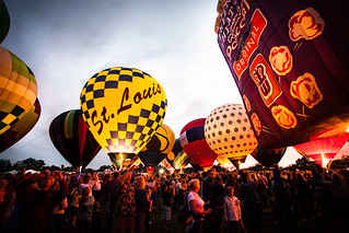 The Great Forest Park Balloon Glow 2012