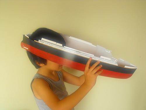Titanic, libro y modelo de armar