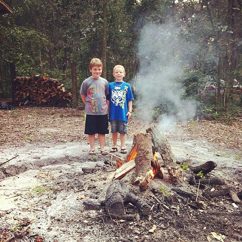 Our first cub scout fire! #cubscout #cubscouts #bsa