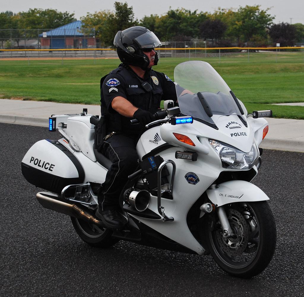 Honda St1300 Police Motorcycle Honda Police Motorcycle