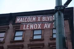 Malcolm X Blvd. Lenox Ave.