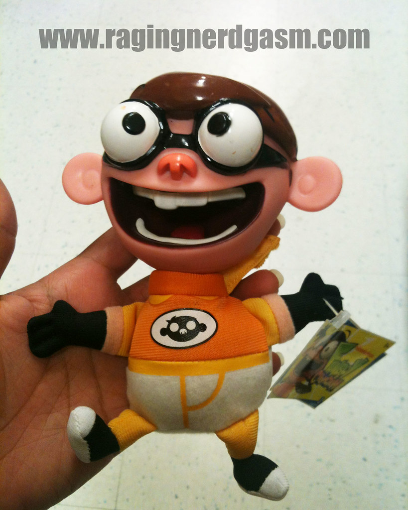 NickToons Plush by Jazwares Chum Chum 012