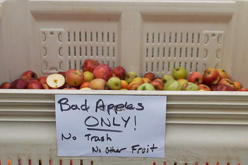 Bad apples.