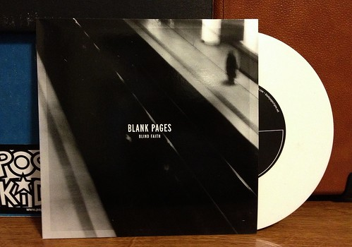 "Blank Pages - Blind Faith 7"" - White Vinyl (/100) by Tim PopKid"