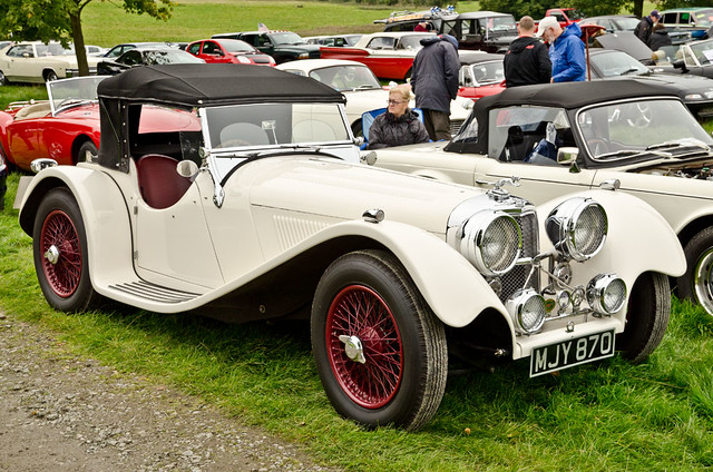 Jaguar ss100 arley hall classic car show 23 09 2012 by for Who owns jaguar motor company