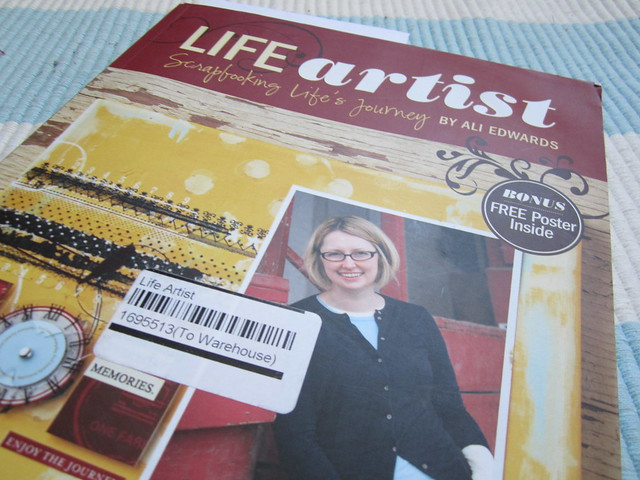 Life Artist by Ali Edwards – a book review
