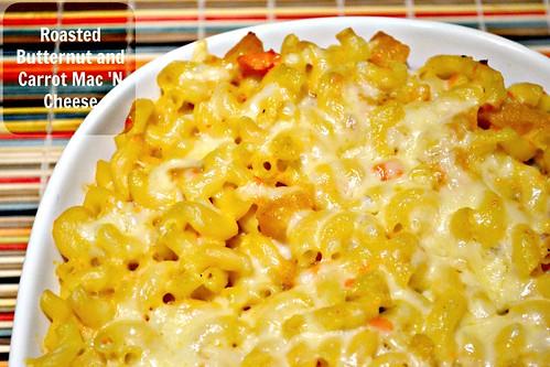 Roasted Butternut & Carrot Mac 'N Cheese