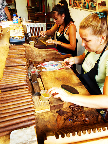 Cigar makers, Cigar Factory, Breña Alta, La Palma
