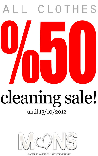 MONS Cleaning Sale!