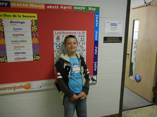 Aug 22 2012 first day of school, Clark