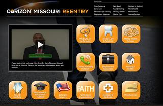 Corizon Missouri Reentry Program launches new website
