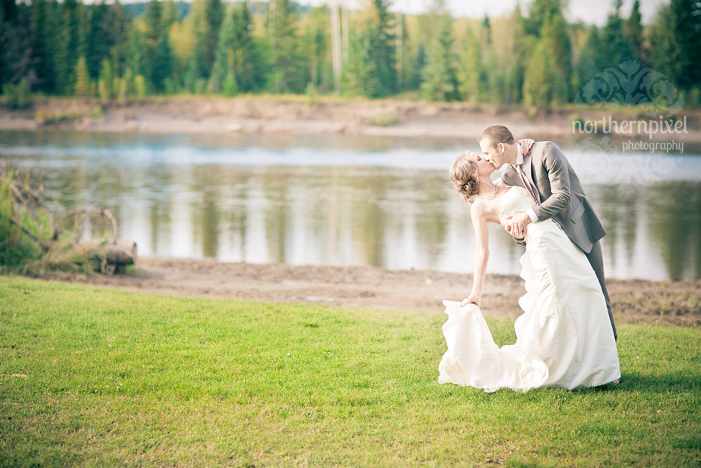 Prince George BC Wedding Photographer Wilkins Park Miworth