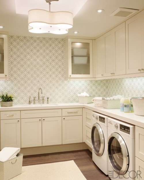 stylish wallpaper laundry rooms flickr photo sharing