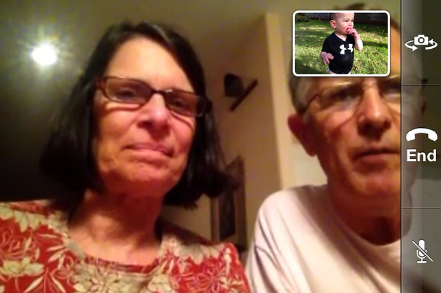Chatting with Grandparents