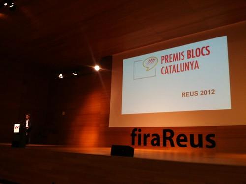 @marcarza i @stic aixecant el perfil TIC de @reus_cat #PremisBlocs #PremisBlocs12 #pbc12