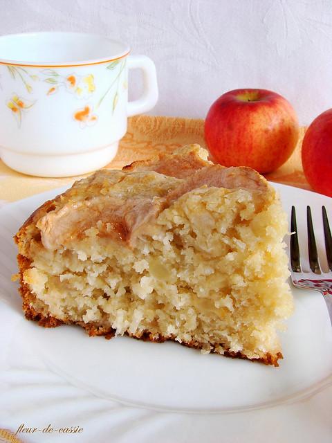 пирог яблочно-кокосовый 3