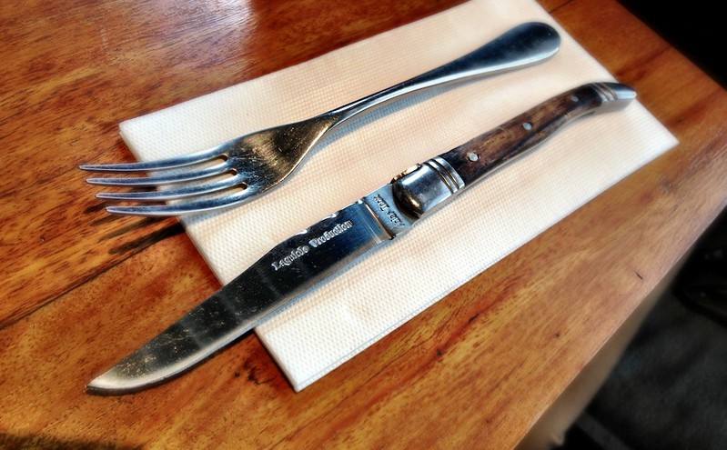 Inox steak knife