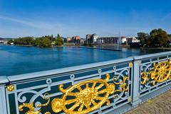 Vue depuis le Pont de Fragnée