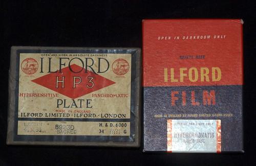 Quarter plate film