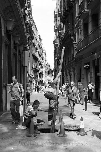 """SUBIENDO AL CIELO. / """"Una manera de ver en blanco y negro"""". by JoanOtazu"""