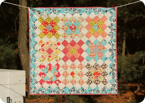 Short Trips Baby Quilt