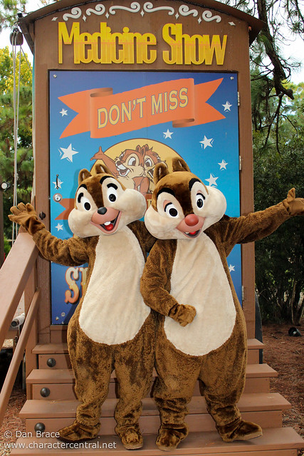 Having fun at Chip 'n Dale's Campfire Sing-A-Long
