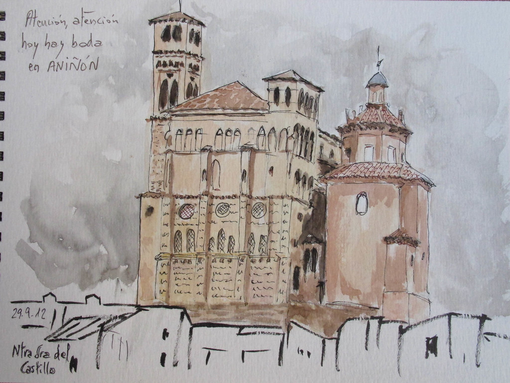 Aniñón (Zaragoza). Iglesia de Ntra Sra del Castillo