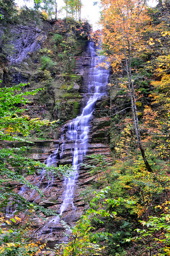 park longexposure autumn ny fall waterfall nikon falls pratt d300