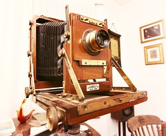 Gandolfi Half Plate Field Camera with Zeiss Lens 5x7 Large Format