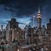 Midtown Lightning by RBudhu