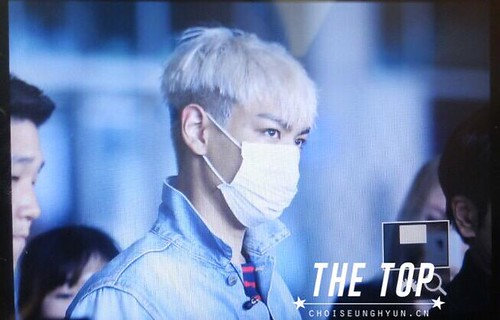 Big Bang - Incheon Airport - 02aug2015 - The TOP - 02
