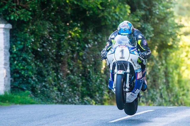 David Johnson Team York Suzuki 2015 Classic TT (C)Steve Babb_Light