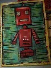 Robot by Emilyannamarie