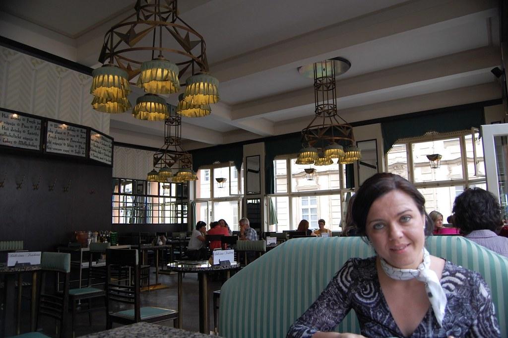 Interior GRAND CAFÉ ORIENT