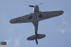 G-KITT - 42-10855 - 27490 - Hangar 11 - Curtiss P-40M Warwawk - 120826 - Little Gransden - Steven Gray - IMG_3380