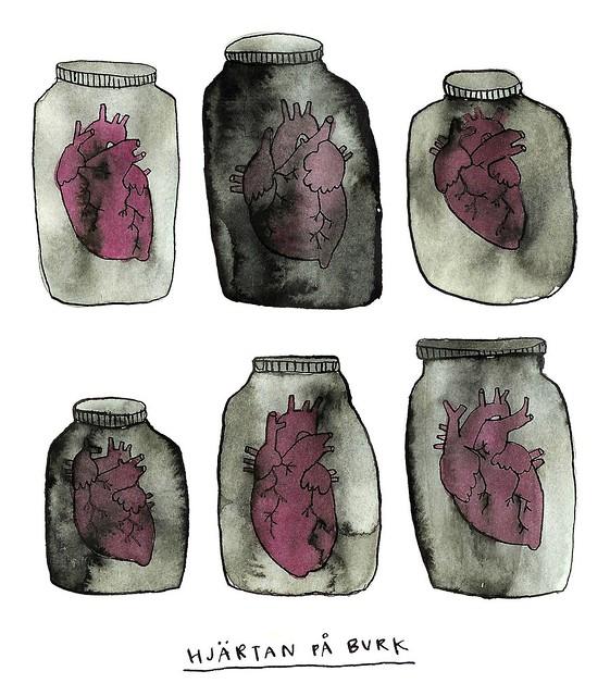 burkhjärtan