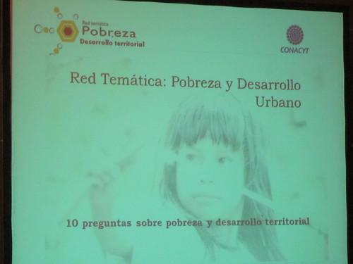 Red Tematica de Investigacion sobre Pobreza y Desarrollo Urbano