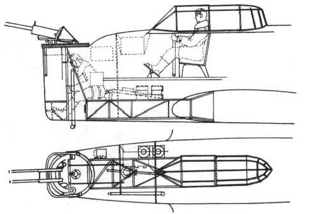 Kalinin K-12 nose turret